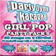 Party Tyme Karaoke - Girl Pop Party Pack 6 [4 CD][32+32-Song Party Pack]