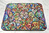 Disney All Characters Stained Glass Mouse Pad