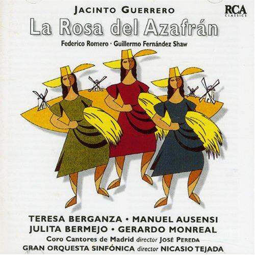 La Rosa Del Azafrán (berganza) - Federico Romero Sarachaga y Guillermo Fernández - CD