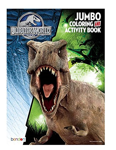 Jurassic World Jumbo Coloring & Activity Book