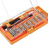 Topop 58 in 1 mit 54 Bit Werkzeugsortiment, Präzisions Schraubendreher Set Handy, Tablet, PC, MacBook, Kit Elektronik Reparatur Werkzeug, Werkzeugkoffer