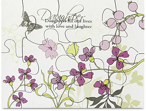 Mark My Words Magnetic Puzzle with Daughter Saying, 3-1/2 by 3-1/2-Inch - 1