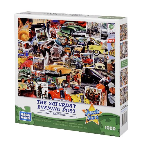 Saturday Evening Post Classic Transit Puzzle, 1000-Piece