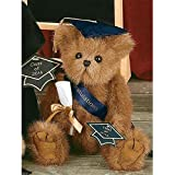 """Smarty"" Class of 2016 Graduation Bear, 11 Inches Tall, By Bearington Bears"