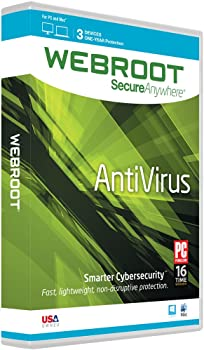 Webroot AntiVirus 3 Device 1 Year