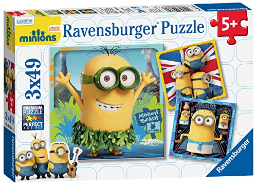 Ravensburger Minions Movie 3x49 Piece Jigsaw Puzzles - 1