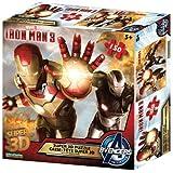 Iron Man 3 Super 3D Puzzle [150 Pieces]