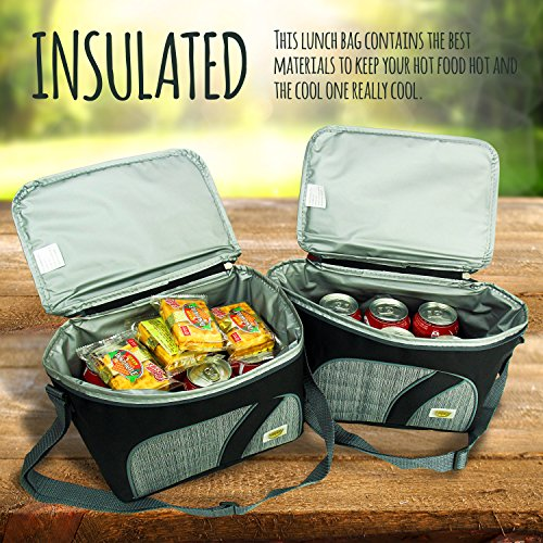 Happy to go adult insulated lunch box bag for men and for Zaffron kitchen set lunch