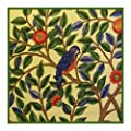 Kelmscott Bird by Arts and Crafts Movement Founder William Morris Counted Cross Stitch Chart
