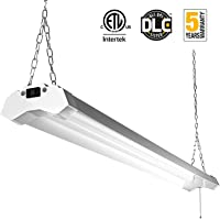 FrenchMay Linkable LED Utility Shop Light 4ft 4800 Lumens Super Bright