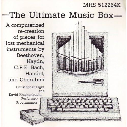 The Ultimate Music Box Christopher Light   Performer