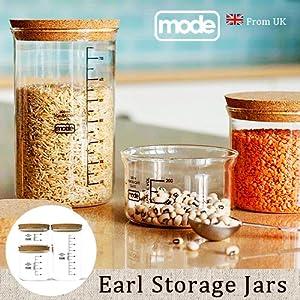モード アール ストレージ ジャー セット [ 3個セット ] mode Earl Storage Jars set [ 保存容器 ]
