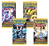 Pokemon 4 (Four) Packs Of Trading Card Game Black & White Bw Next Destinies Booster (4 Pack Lot)