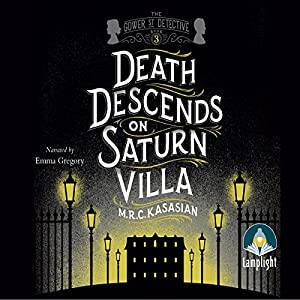 Death Descends on Saturn Villa Hörbuch