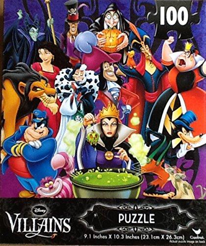 Disney Villains Jigsaw Puzzle 100 Pieces - 1