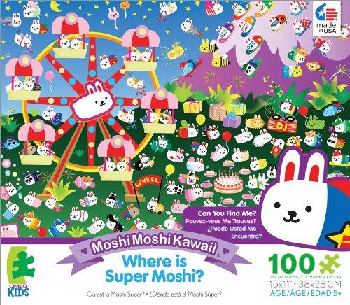 Ceaco Moshi Moshi Kawaii Super Moshi Jigsaw Puzzle