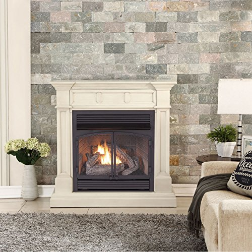 Duluth Forge Dual Fuel Vent Free Gas Fireplace - 32,000 BTU ...