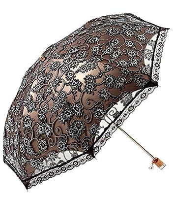 Honeystore Regenschirm, Automatik Taschenschirm Anti UV Regen/Sonne Spitze Regenschirm für Damen von Honeystore - Gartenmöbel von Du und Dein Garten