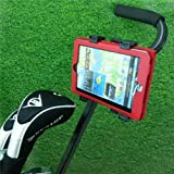 Adjustable 'Quick Fix' Golf Trolley / Cart Tablet Mount for Samsung Galaxy TAB & TAB 2 (All Models) by 16499