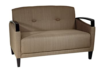 Office Star Main Street Loveseat Woven Seaweed MST52-S22
