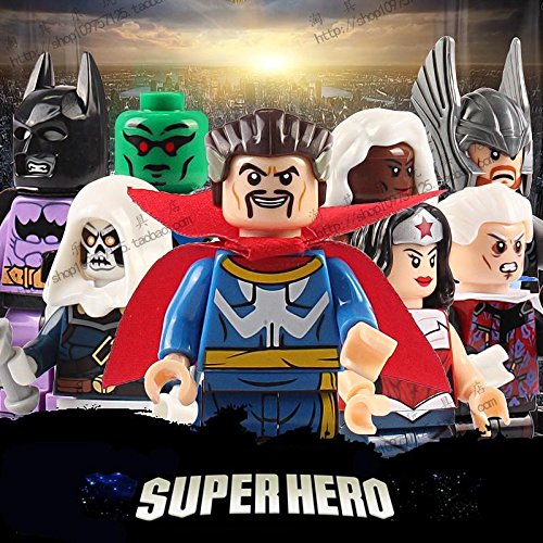 8pcs Superhero Minifigures Compatible with Lego