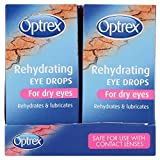 6 x Optrex Dry Eye Drops 10ml