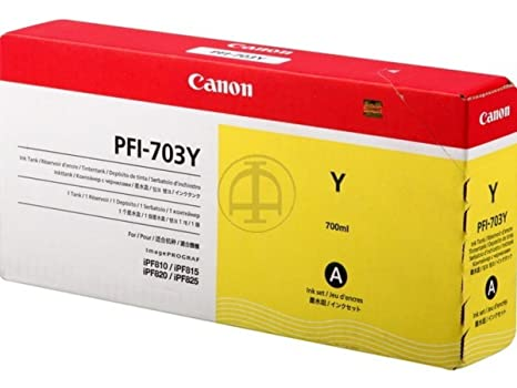 Canon Imageprograf IPF 820 PRO (PFI-703 Y / 2966 B 001) - original - Ink cartridge yellow - 700ml