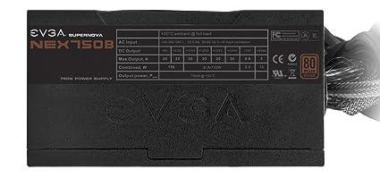 EVGA SuperNOVA 110-B1-0750-VR Alimentation PC 750 W Noir