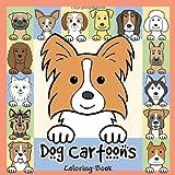 Dog Cartoons Coloring Book ~ Anita Valle