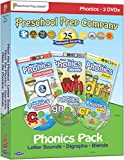 Meet the Phonics Pack - 3 DVD Boxed Set (Meet the Letter Sounds, Meet the Digraphs & Meet the Blends)