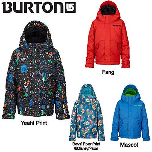 【BURTON】バートン2014-2015/Boys Minishred Amped Jacket ボーイズスノージャケット スノーボードウェア/キッズ 子供用 男の子 YeahPrint(在庫あり) 2T
