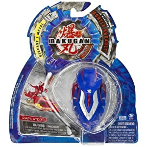 Rapilator (Aquos - Blue) : Bakugan Mechtanium Surge Mobile Assault -