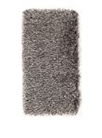 ABC Tappeti Alfombra Shaggy Deco (Gris)