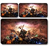 GQ World of Warcraft pad jeu de la souris wow panda super épais , 75 * 40 * 0.3 cm