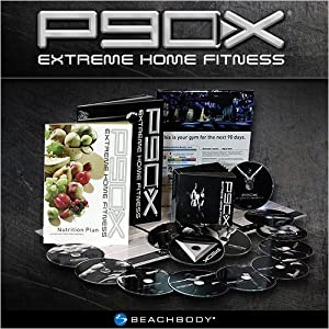 P90X 13 DVD Total Transformation Set