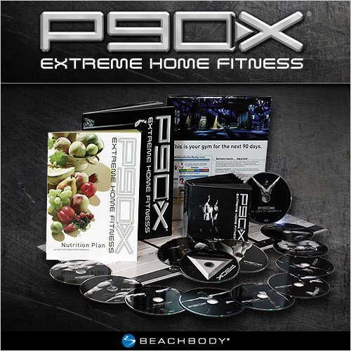 P90X Extreme Home Fitness Workout Program - 13 DVDs