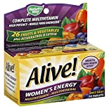 Natures Way Alive! Complete Multivitamin, Women's Energy, Tablets, 50 tablets