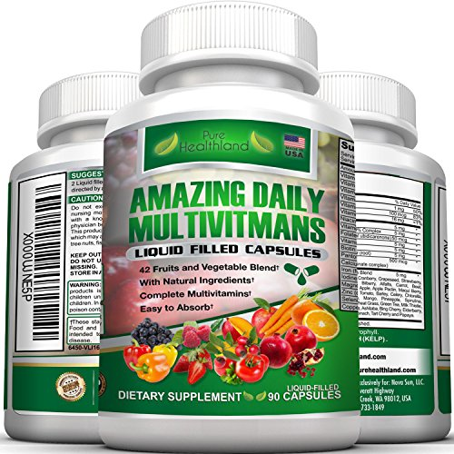 High Quality Food Based Multivitamin