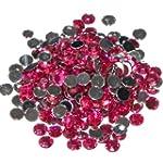 Pack of 1000 x Fuchsia Crystal Flat B...
