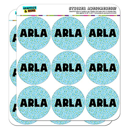 arla-name-scrapbooking-crafting-stickers-blue-speckles-18-2-stickers
