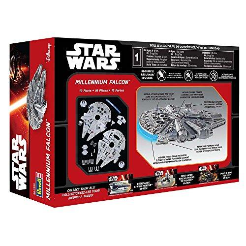 031445016332 - Revell SnapTite Build & Play(TM) Star Wars(TM) Episode 7 Millennium Falcon(TM) carousel main 17