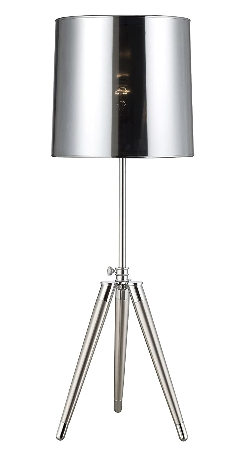 12 In Table Lamp With Silver Shade Home Improvement Super