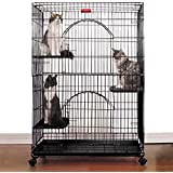 ProSelect Foldable Cat Cages - Ivory, Black, Purple