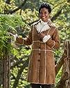 Braetan Womens Faux Suede Coat