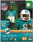 NFL Miami Dolphins NFL Generation 2 Series 1 Minifigure Philip Wheeler