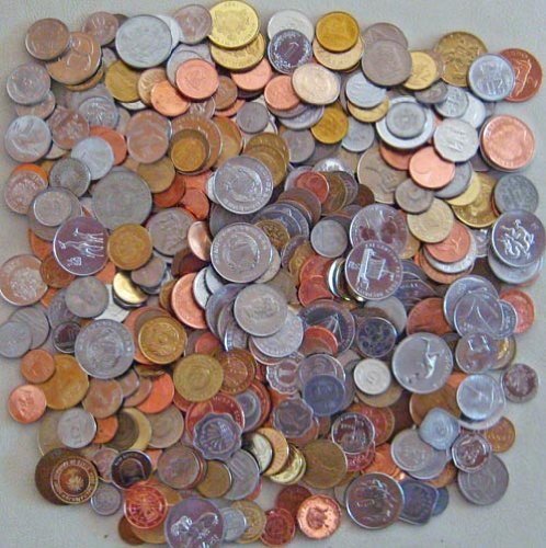 500 Different Coins from 150 different Countries
