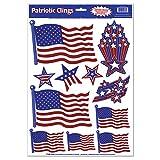 Patriotic Window Clings