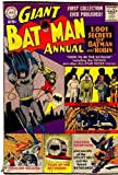 Giant Batman Annual #1, 1961. Original edition