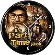 Duck Dynasty Party Time 12-Inch Black Rim Clock