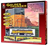 Life-Like Trains  HO Scale Golden Thunder Electric Train Set